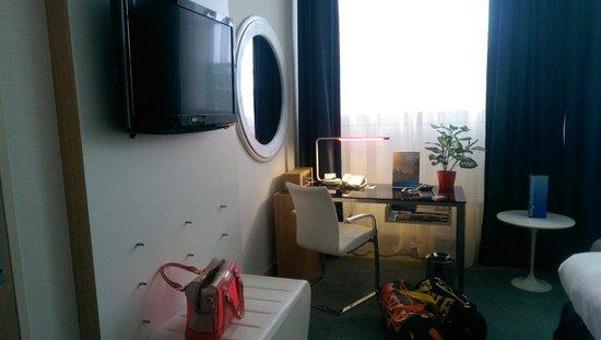 Radisson Blu Hotel, Amsterdam: Modern fresh rooms