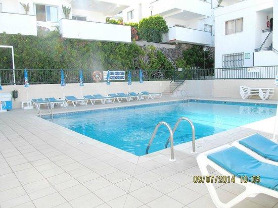 El Sombrero Pool area