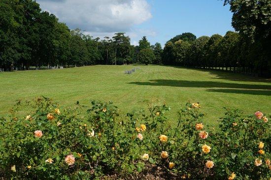 Chateau de Combourg: Vue sur le parc