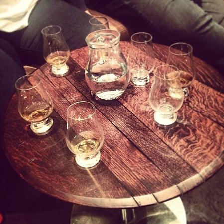 Amber Restaurant at the Scotch Whisky Experience: A personal tour through Speyside from Kris
