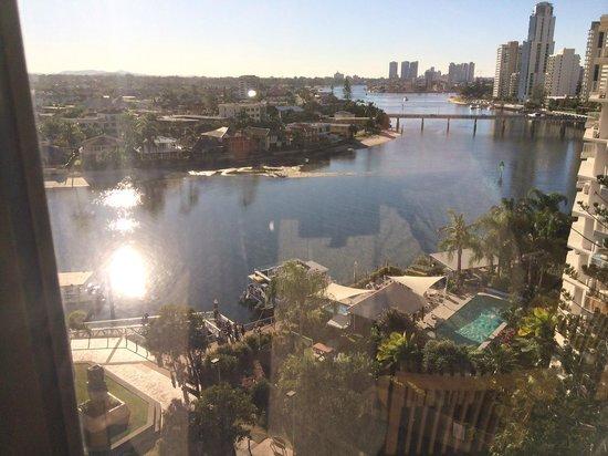 Tiki Village International Gold Coast: View over river