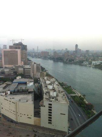 Fairmont Cairo, Nile City: The Fairmont panoramic view..