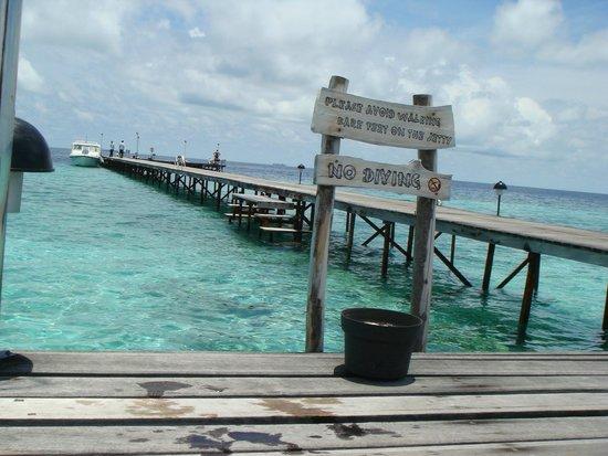 Fun Island Resort: Пирс