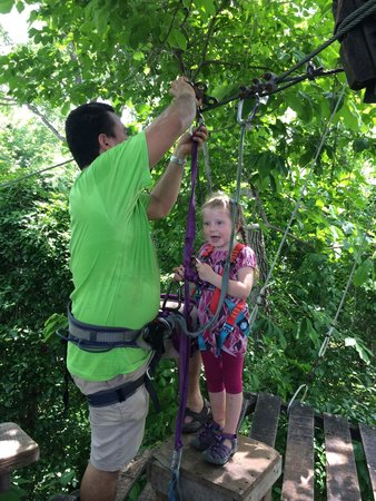 Wingnuts Canopy Tours: Our almost 4 year old had a terrific experience!