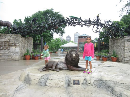 Lincoln Park Zoo : Entrance to the Zoo