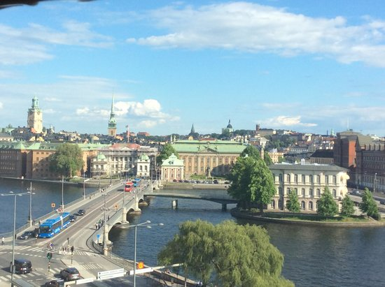Sheraton Stockholm Hotel: old town from room