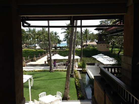 INTERCONTINENTAL Bali Resort : View from the lobby