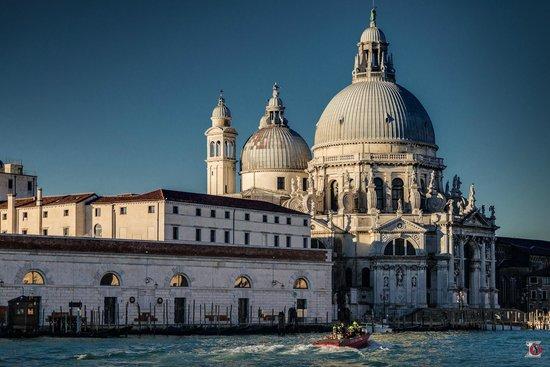 Basilica di Santa Maria della Salute: Вид с Гранд-Канала