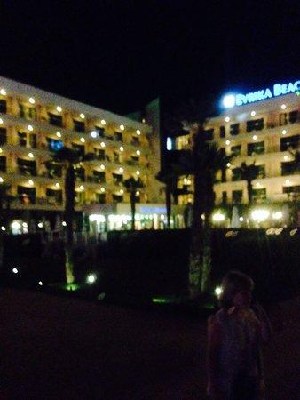 DIT Evrika Beach Club Hotel: Beachside view