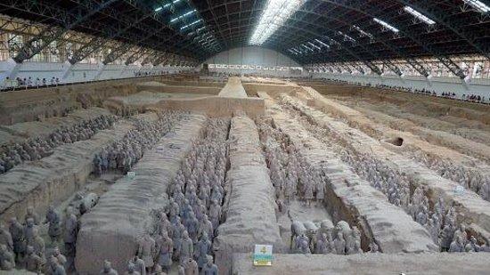 Mausolée de l'empereur Qin : Terra Cotta warrior Museum