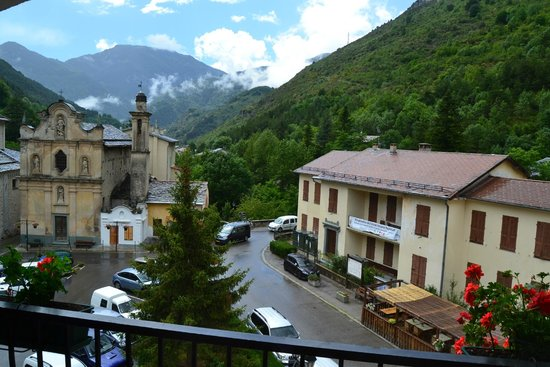 Auberge Saint Martin: view from the balcony