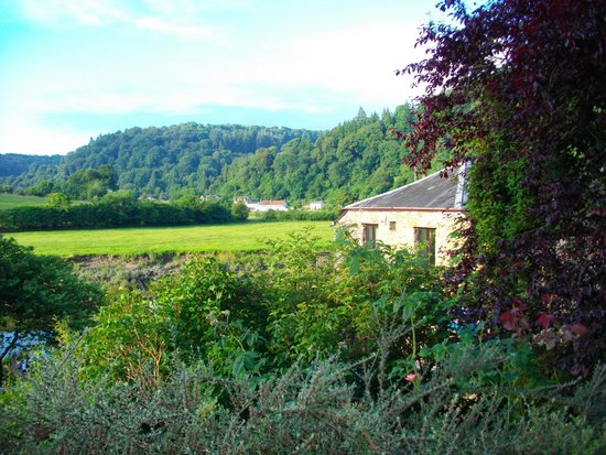 Tintern Old Rectory B&B: View from the Old Rectory