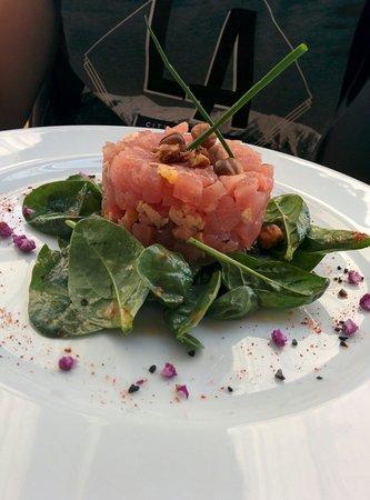 Restaurant La Cote d'Argent: Tartare de thon et foie gras