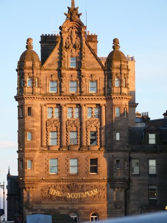 The Scotsman Hotel : the tower room is top left