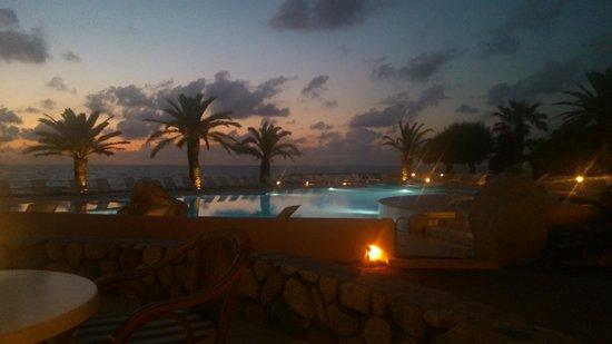 Hotel Cala di Volpe: Stimmung am Abend