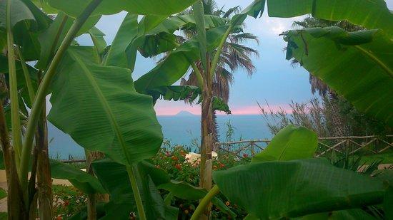 Hotel Cala di Volpe: Aussicht von der Terrasse - traumhaft!!