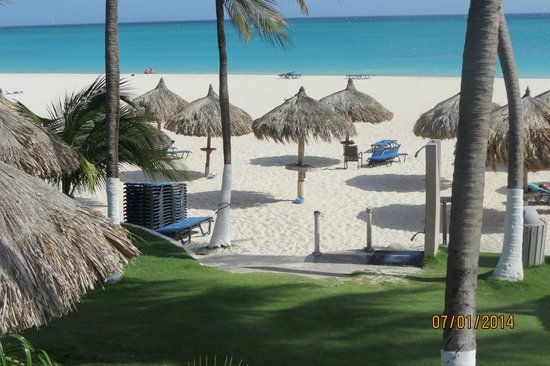 Divi Aruba All Inclusive: The view from our room