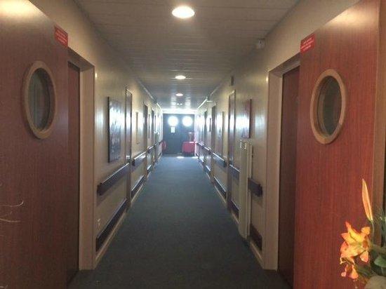 Villa des Marais : couloir