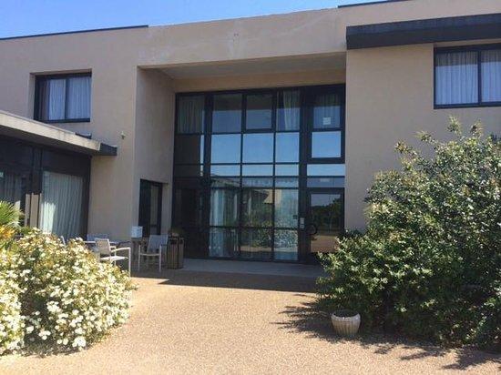 Villa des Marais : entrée