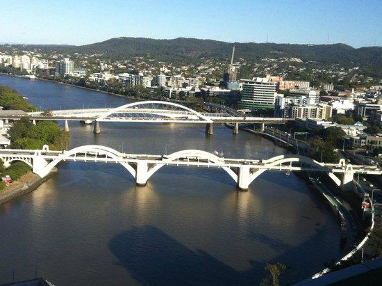Meriton Serviced Apartments Brisbane on Herschel Street: Brisbane River