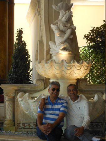 Caesars Palace: with friend