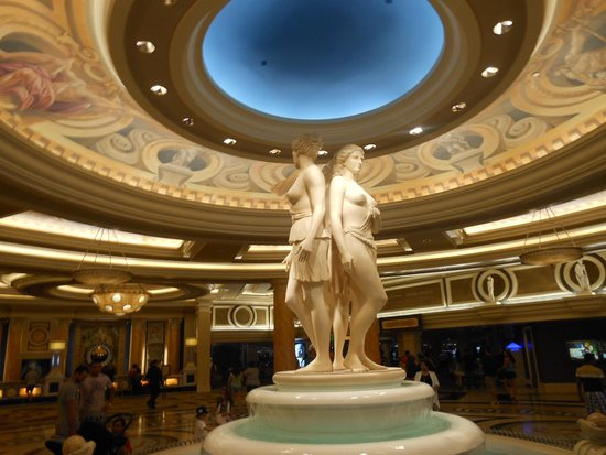 Caesars Palace: five