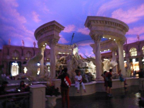 Caesars Palace: seven