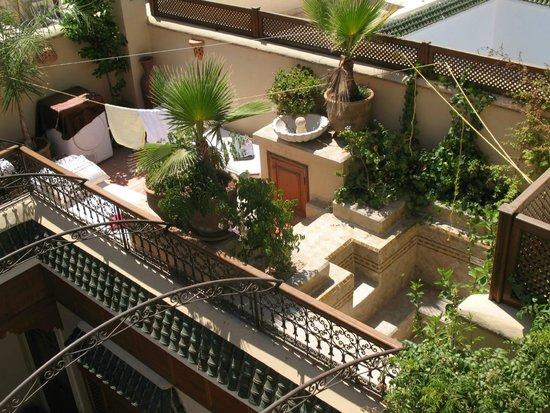 Riad Gallery 49 : Terrasse