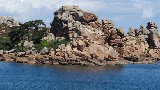 Sentier des douaniers: Rocks...