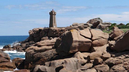 Sentier des douaniers: Lighthouse at Ploumanac'h