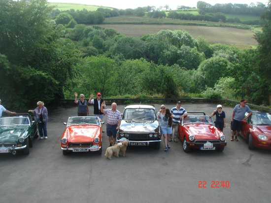 Llanerchindda Farm: We are ready for the start of our classic tour