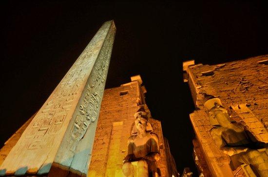 Luxor-Tempel: ENTREE TEMPLE