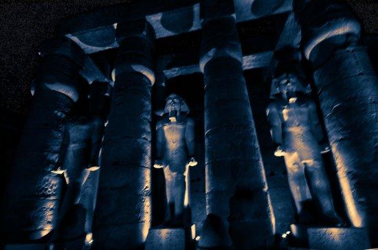 Luxor-Tempel: INTERIEUR