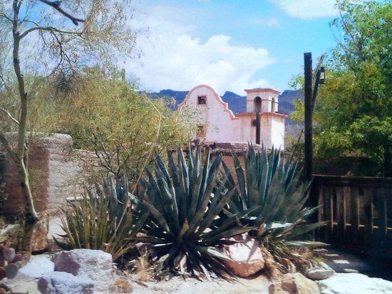 Old Tucson: une vue du site