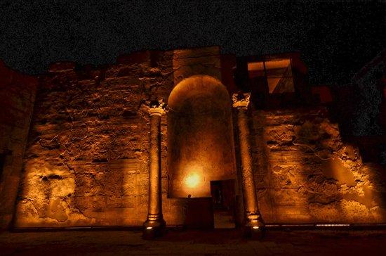 Luxor-Tempel: INTERIEUR TEMPLE