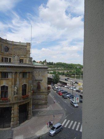 Clarion Hotel Prague Old Town: udsigten fra mit værelse på 3 sal.