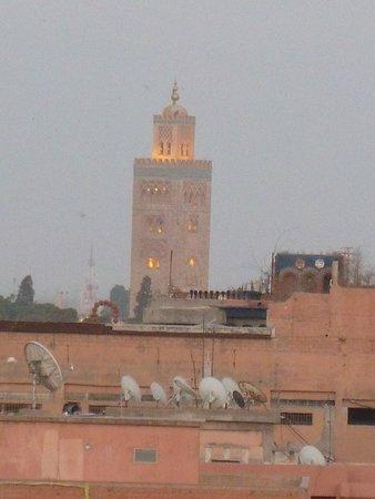 Hotel Riu Tikida Garden: marrakesh view