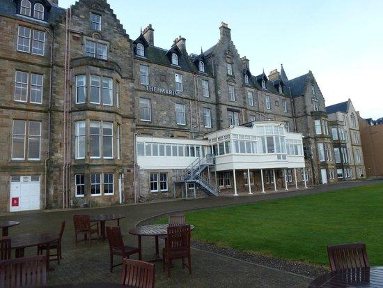 Macdonald Marine Hotel & Spa: The Hotel rear