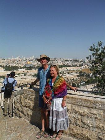 Mount of Olives: Jerusalem view