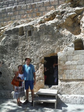 Mount of Olives: Tomb