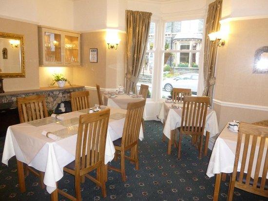 Sandon Guest House: Dinning room