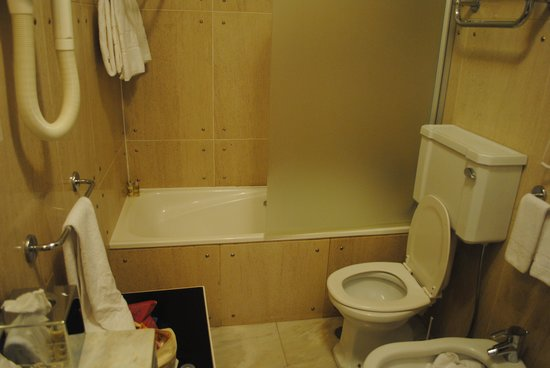 Hotel Avenida Palace: Institutional bathroom