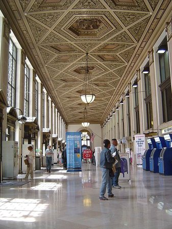 James A. Farley Post Office: The Interior Of The Post Office