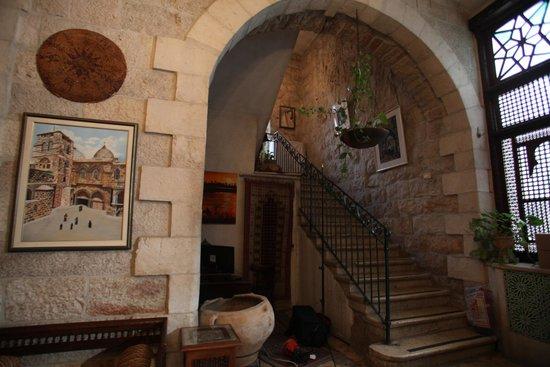 Jerusalem Hotel: main lobby arch