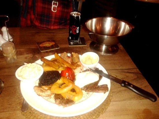 Ye Olde Buffalo Tavern: Good down home food