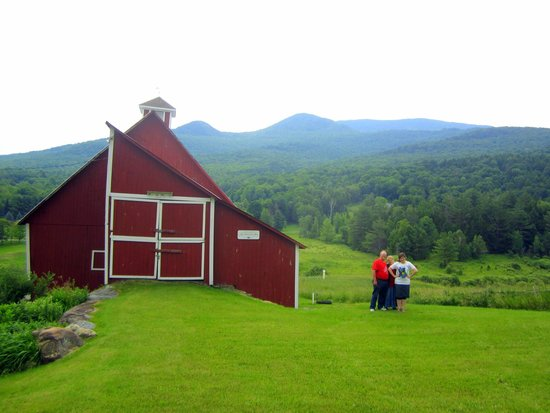 Vermontology Guided Day Tours: Vermontology customer at Stowe Hollow- Vermont Tours