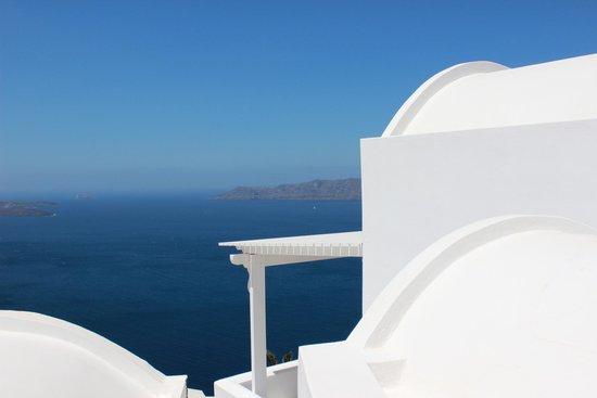 Santorini Princess: Our villa facing the Caldera