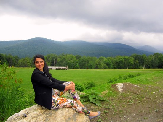 Vermontology Guided Day Tours: Vermontology customer at Trapp Family Lodge- Vermont Tours