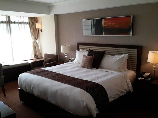 Oakwood Residence Hangzhou: sleeping area