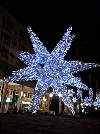 Calle Camoens: Christmas in Ceuta
